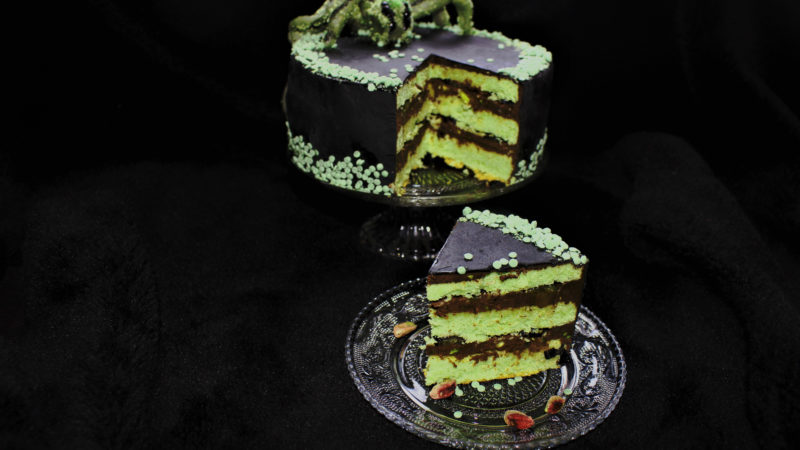 monsterspider cake für Halloween