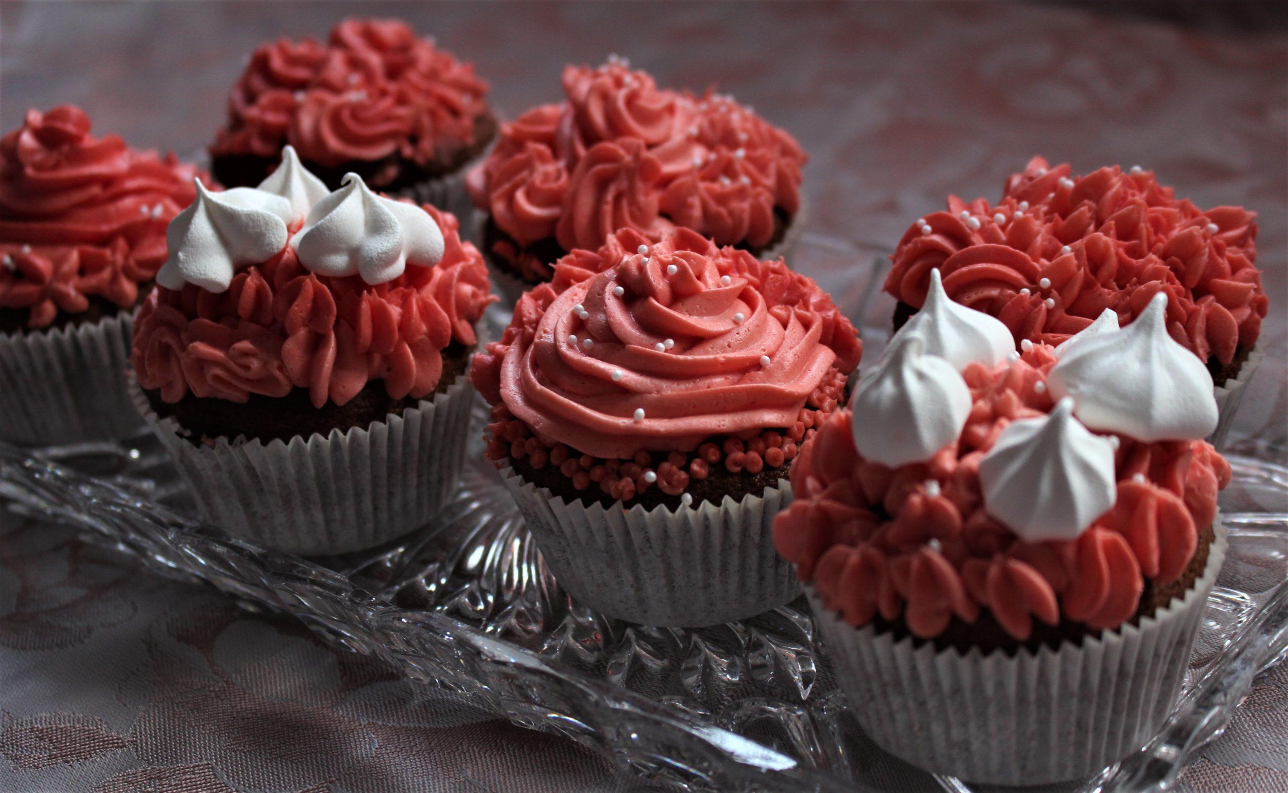 Meine Pink Cupcakes