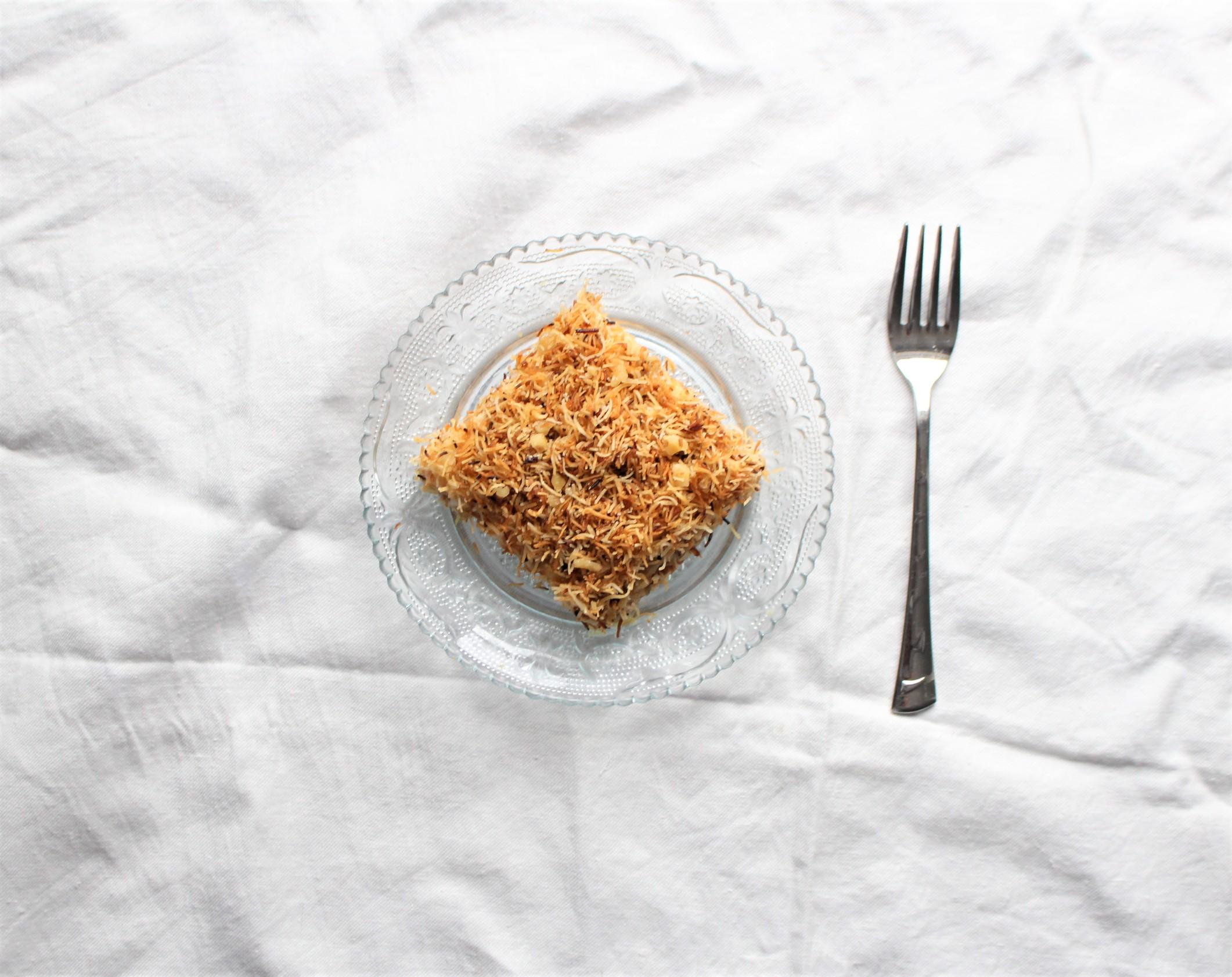 Kadayifli Muhallebi – Muhallebi Pudding mit Kadayif