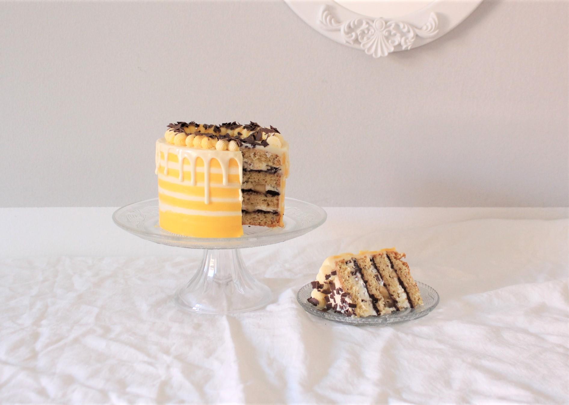 Banana Split Torte – Der Klassiker in Tortenform